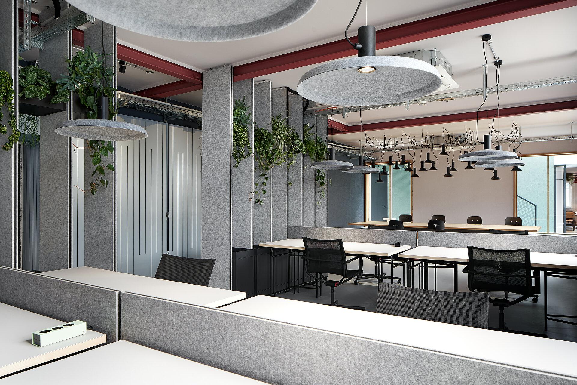 Das Open Office Coworking der Urban Spaces.