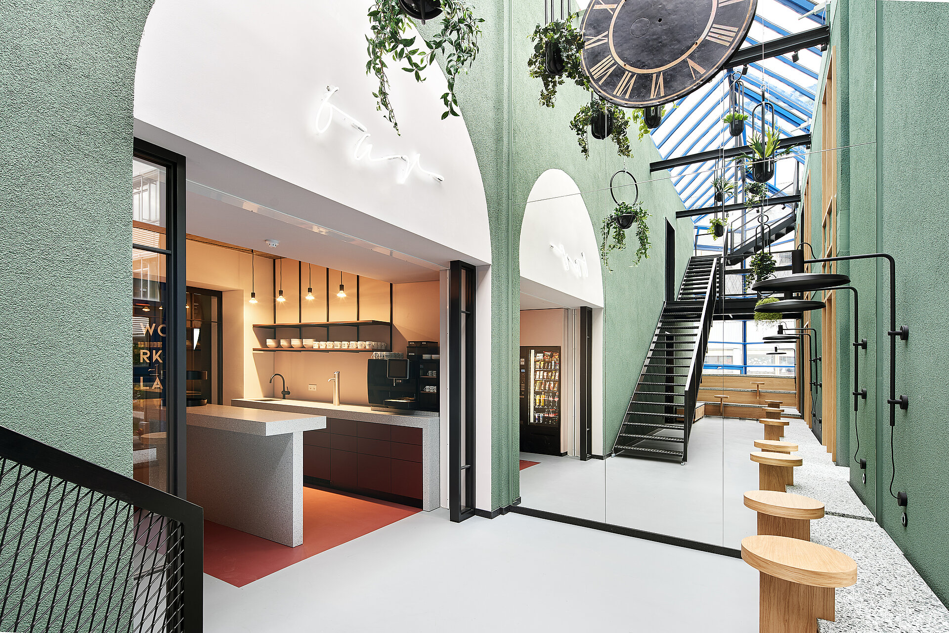 Das Atrium der Urban Spaces.