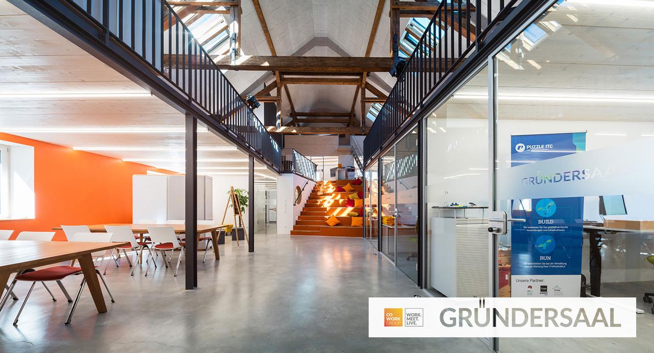 Das GRÜNDERSAAL der Cowork Group GmbH