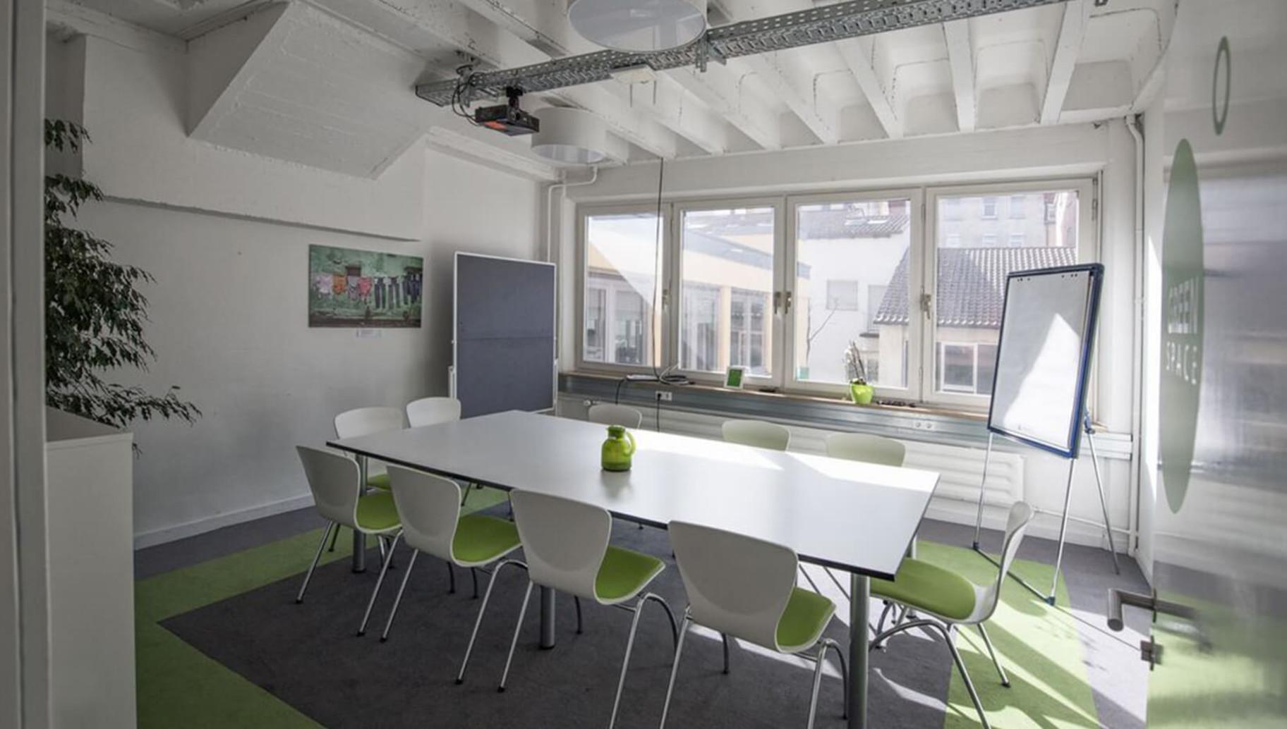 Meetingraum des Coworking0711