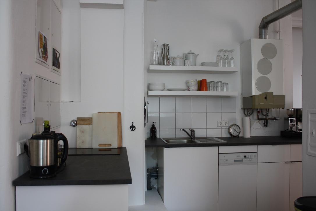 Die Küche des HomeOffice14.
