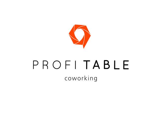 Das Logo des PROFI TABLE coworking
