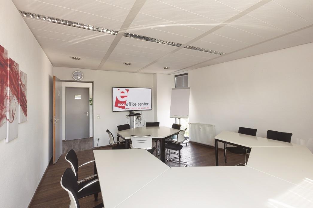 Meetingraum des ecos office center freiburg.