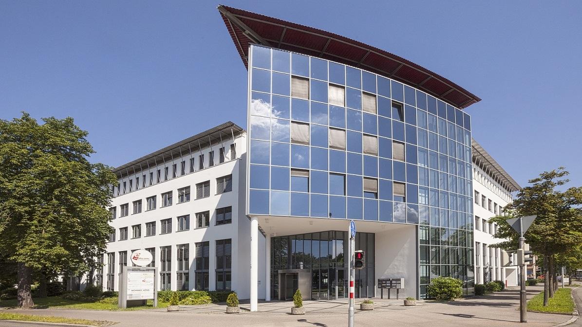 Das ecos office center freiburg.