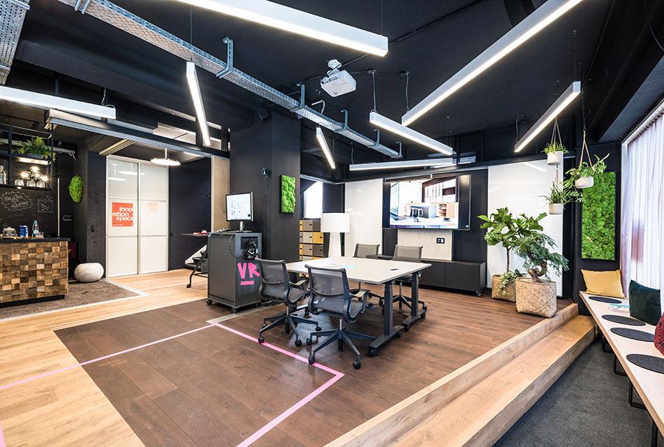 Räumlichkeit 1 des innovation space.