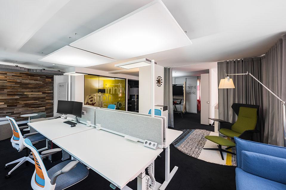 Räumlichkeit 2 des innovation space.